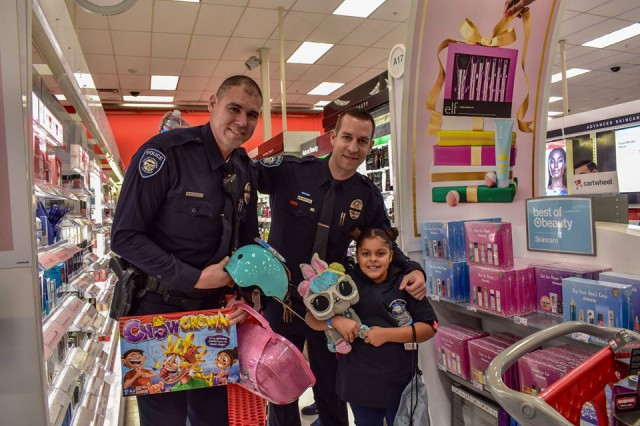 Thanks to all supporting our annual Shop With A Cop event